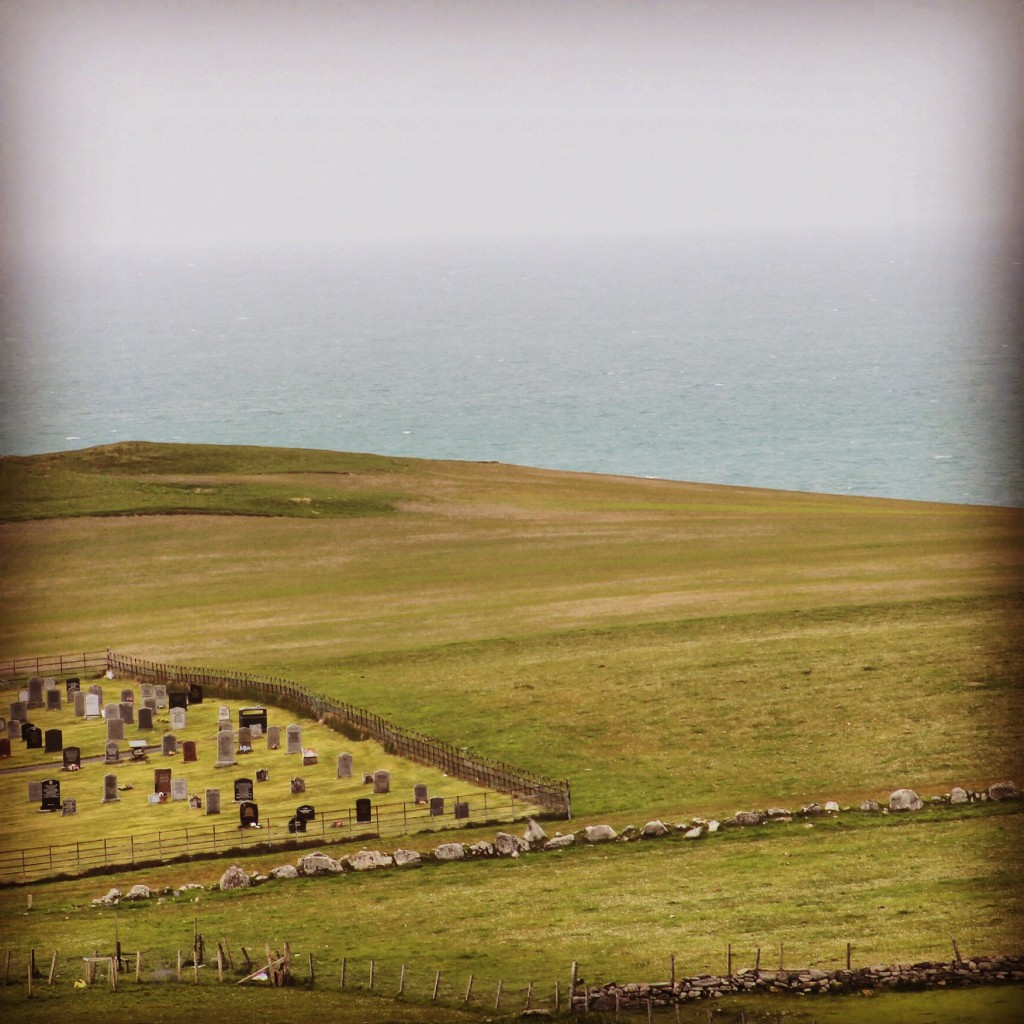 Cemetery by the Sea - Outer Hebrides